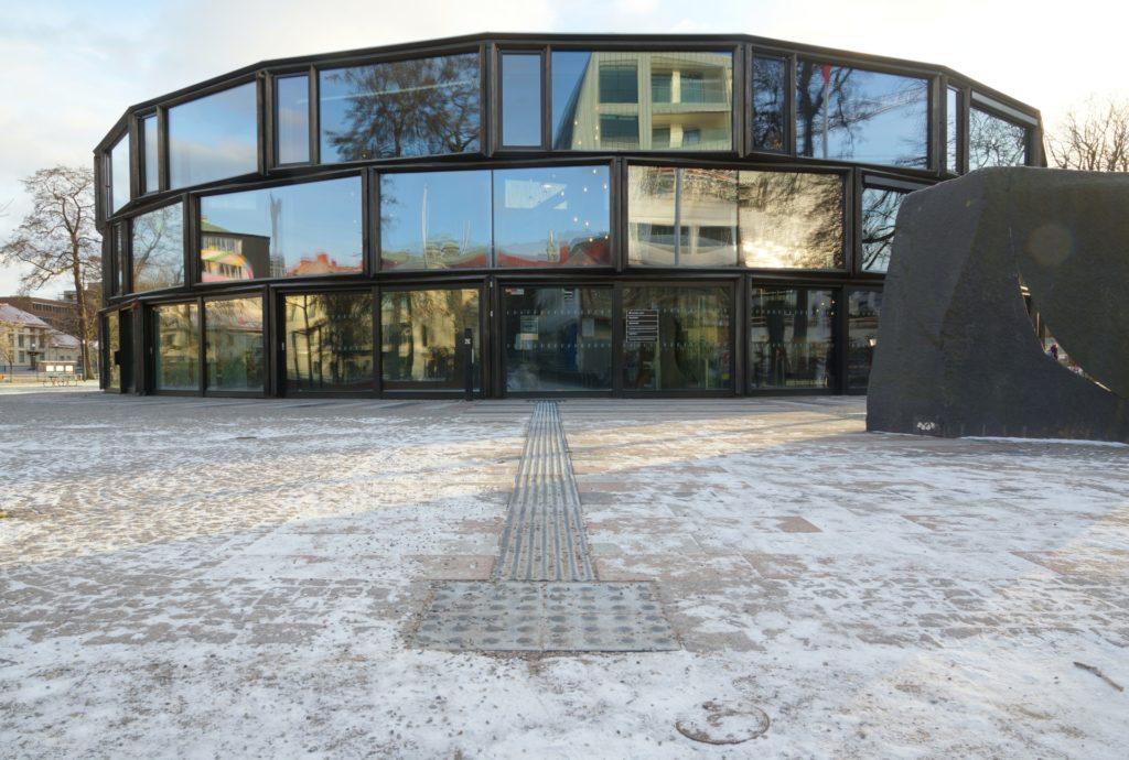 Conficomp sinusplattor med markvärme, Stadsparken Borås